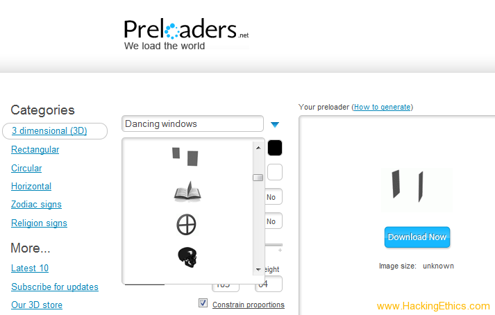 3 Ways To Make Preloaders,Ajax Progress Bar or Animated gif For