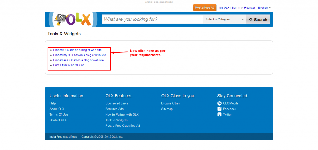 tools details 1024x483 Best Free Online Classified Website In India   Olx.in